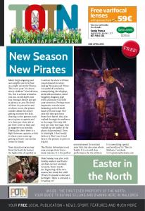 New Season. New Pirates. Easter in the North. Free varifocal lenses HAVE A HAPPY EASTER FREE!