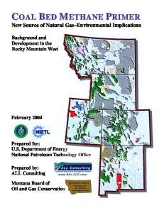 New Source of Natural Gas Environmental Implications
