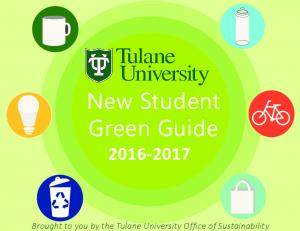 New Student Green Guide