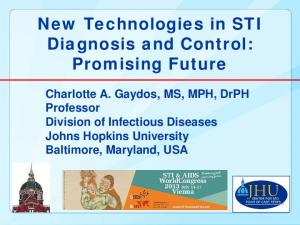 New Technologies in STI Diagnosis and Control: Promising Future