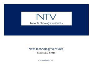 New Technology Ventures