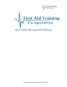 New Trainer Development Pathway