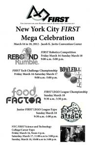 New York City FIRST Mega Celebration