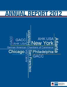 New York German American Chambers of Commerce