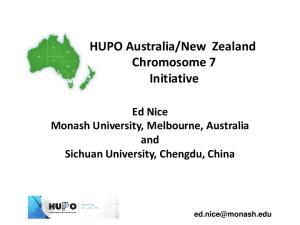 New Zealand Chromosome 7 Initiative