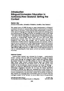 New Zealand: Setting the Context