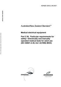 New Zealand Standard