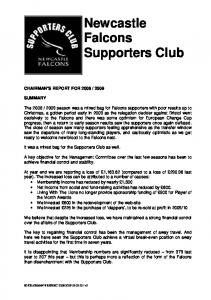 Newcastle Falcons Supporters Club