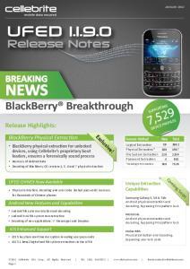 NEWS BlackBerry Breakthrough