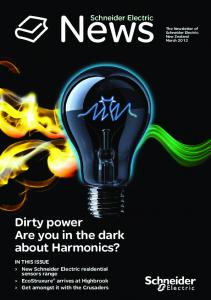News. Dirty power Are you in the dark about Harmonics?