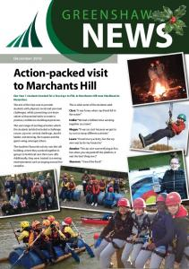 NEWS GREENSHAW. Action-packed visit to Marchants Hill. December 2016