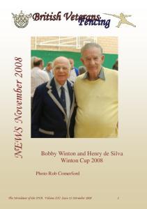 NEWS November Bobby Winton and Henry de Silva Winton Cup Photo Rob Comerford