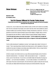 News Release. December 9, For immediate release