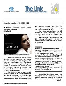 Newsletter Issue No. 6 DECEMBER 2008