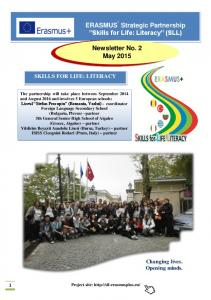 Newsletter No. 2 May 2015