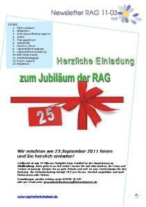 Newsletter RAG