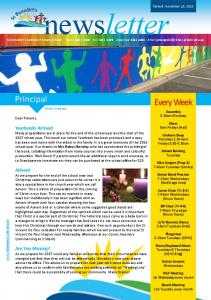 newsletter St Benedict s Catholic Primary School: Phone Fax Absentee
