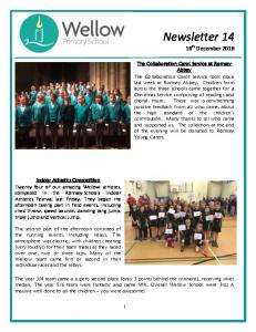 Newsletter th December 2016