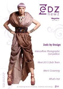 newz Zedz by Design Intercoiffure Photographic Competition Meet 2013 Zedz Team Men s Grooming What s Hot Magazine