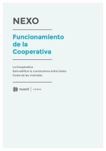 NEXO Funcionamiento de la Cooperativa