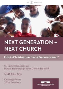 NEXT GENERATION NEXT CHURCH