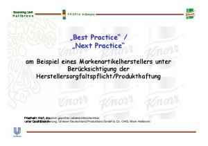 Next Practice