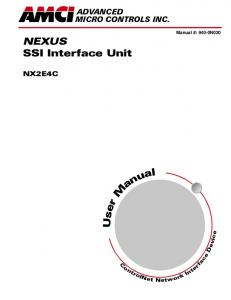 NEXUS SSI Interface Unit