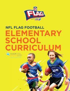 NFL FLAG Football Elementary School Curriculum