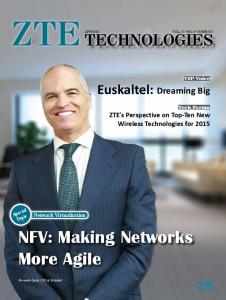 NFV: Making Networks More Agile