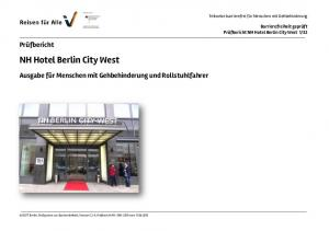 NH Hotel Berlin City West