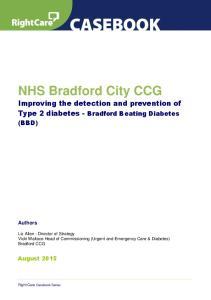 NHS Bradford City CCG