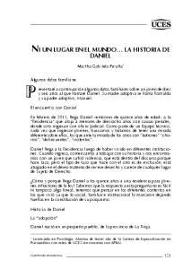 NI UN LUGAR EN EL MUNDO LA HISTORIA DE