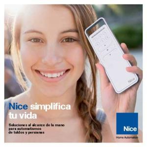 Nice simplifica tu vida. Soluciones al alcance de la mano para automatismos de toldos y persianas