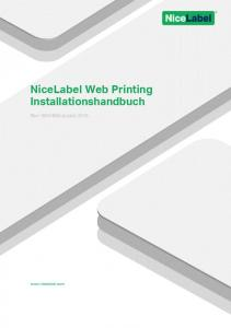 NiceLabel Web Printing Installationshandbuch
