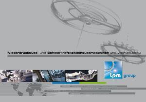 Niederdruckguss- und Schwerkraftkokillengussmaschinen und Werkzeugbau