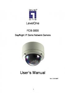 Night IP Dome Network Camera. User s Manual. Ver: