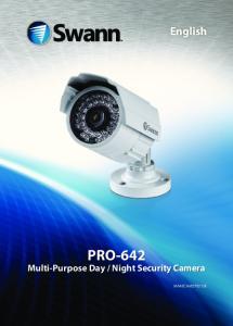 Night Security Camera M642CAM270213E