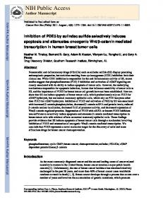 NIH Public Access Author Manuscript Cancer Prev Res (Phila). Author manuscript; available in PMC 2012 August 1
