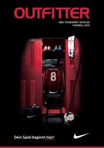 NIKE TEAMSPORT-KATALOG FUSSBALL 2015