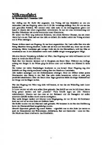 Nilkreuzfahrt 28. November bis 5. Dezember 1999