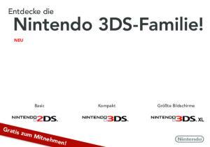 Nintendo 3DS-Familie!