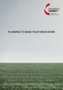 NIRAS-GROUP AFFILIATE PARTNER PLANNING TO MAKE YOUR VISION WORK
