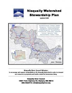 Nisqually Watershed Stewardship Plan