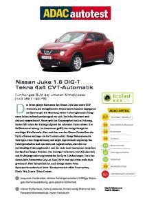 Nissan Juke 1.6 DIG-T Tekna 4x4 CVT-Automatik
