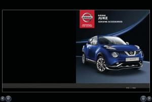 NISSAN JUKE GENUINE ACCESSORIES