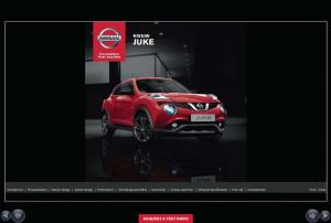 NISSAN JUKE REQUEST A TEST DRIVE