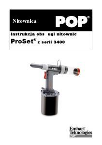 Nitownica. ProSet z serii 3400