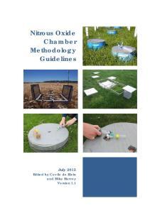 Nitrous Oxide Chamber Methodology Guidelines