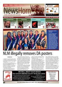 NLM illegally removes DA posters FREE FREE FREE FREE FREE. Nkomazi in mourning as crime escalates