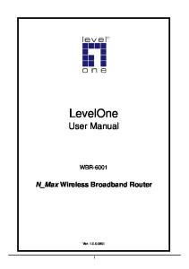 N_Max Wireless Broadband Router